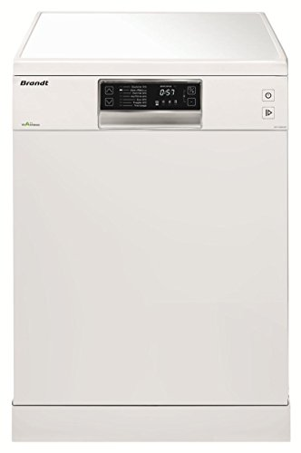Brandt DFH13524W Independiente 13cubiertos A++ lavavajilla - Lavavajillas (Independiente, Color blanco, Full size (60 cm), Negro, Color blanco, Botones, Tocar, Natural)