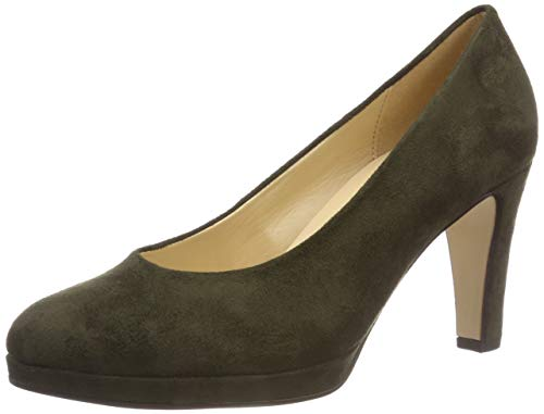 Gabor Shoes Damen Fashion Pumps, Grün (Oliv 41), 42 EU