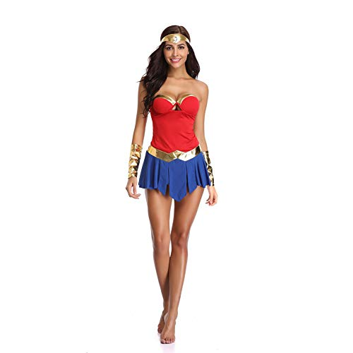 OLKWG Wonder Woman Kostüm Adult Halloween Kostüm
