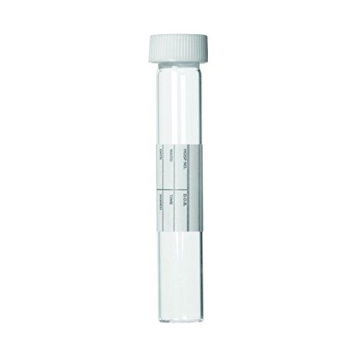 Wheaton 116106 Glas-Blutentnahmeröhrchen mit PP-Verschlusskappe, 10 mL (500-er Pack)