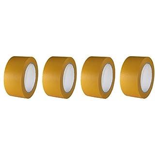 4 Rollen Maler Goldband 50mm x 50m