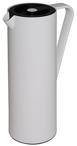 Hovac224749 Carafe Isotherme Plastique Blanc 1 L