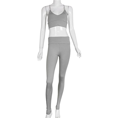 Leezeshaw -  Tuta da ginnastica  - Donna Gray