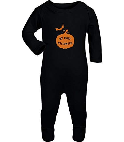 Shirtgeil Baby Halloween Kostüm Kürbis mit My First -