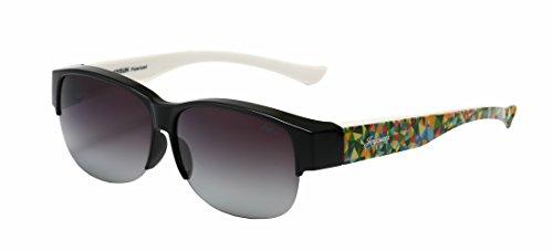Joysun polarisierte LensCovers Sonnenbrille Unisex tragen über Korrekturbrille 8008L1