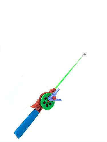 My-Fishing-World Krebsangel Angelset mit Rute Rolle und Schnur zum Angeln auf Krebse und andere Schalentiere perfekt für den Urlaub Kinderangel