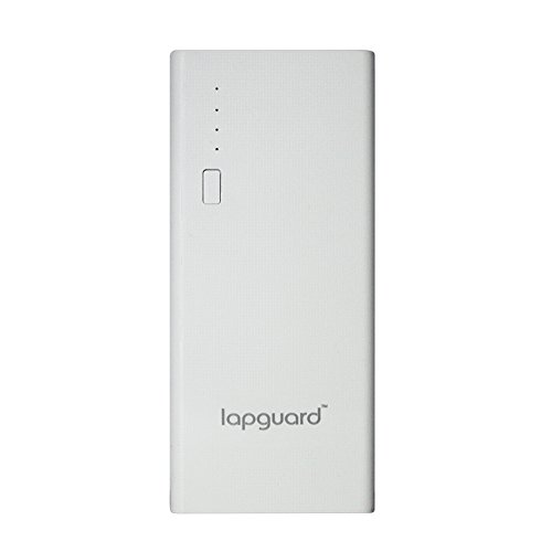 Lapguard LG514 10400mAH Lithium-Ion Power Bank (White)