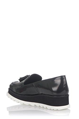 Laura Moretti Bugy Shoes, Flâneurs Femme Vert