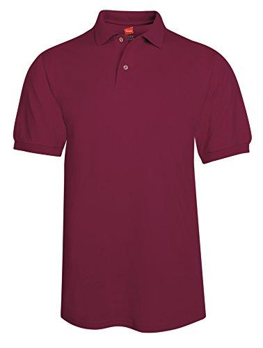 Hanes -  Polo  - Uomo rosso  - Castagna