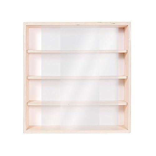 finest v vitrine murale cm x cm x cm collection miniature collecteur affichage pion petit objet. Black Bedroom Furniture Sets. Home Design Ideas