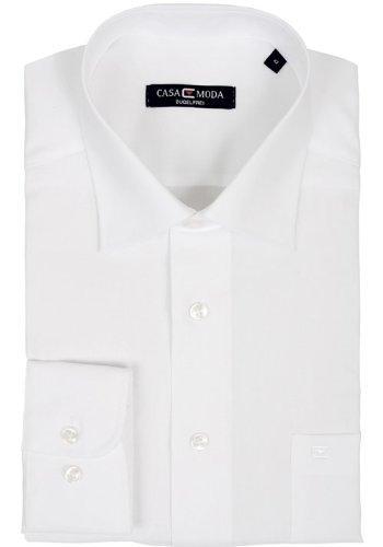CASAMODA Herren Businesshemd Weiß