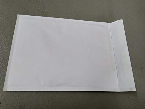 100 pezzi bianco buste postali imbottite busta bolle d'aria formato cd 20 x 17,5 cm spedizione gratuita