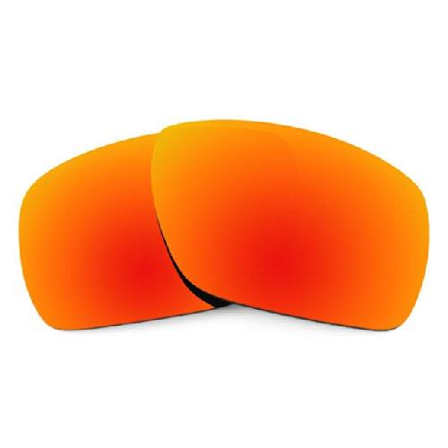 sunglasses restorer Kompatibel Ersatzgläser für Oakley Dispatch 1, Polarisierte Fire Iridium Linsen