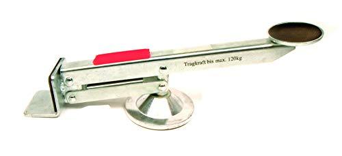 HAROMAC Tür- und Plattenheber | max. Hebkraft 120kg | 315 x 50 x 70 mm |