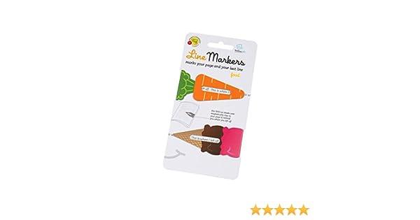 Line Markers Sloth//Faultier Magnetische Lesezeichen2er Set Motiv Faultier