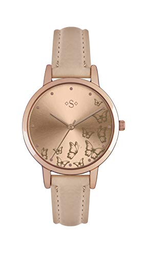 Spirit Womens Analogue Classic Quartz Watch with PU Strap ASPL95 Best Price and Cheapest