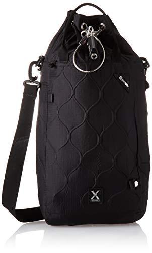 Pacsafe Travelsafe X15 - Mobiler Safe mit TSA-Zahlen Schloß, Trage-Tasche mit Anti-Diebstahl Technologie, 15 Liter, Schwarz/Black