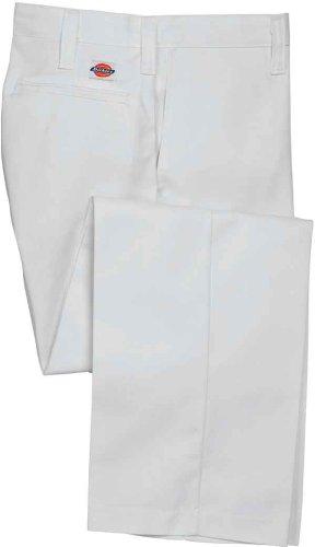 Dickies - - Hommes LP8122 Flat Front Pantalon industriels white