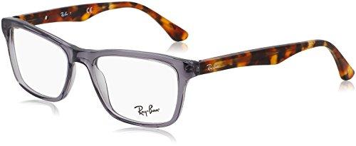 RAYBAN Herren Brillengestell RX5279, Grau (Shiny Opal Grey), 53