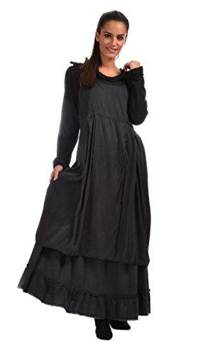 Aurea Vita - Dress SANTA - Woman - S - Grey