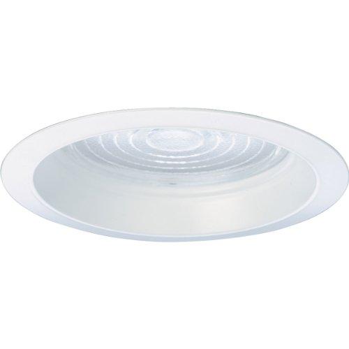 Progress Lighting P8034-83 Regressed Fresnel Trim UL/CUL Listed For Wet Locations, White by Progress Lighting (Fresnel-trim)