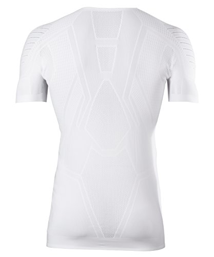 FALKE Herren Underwear Cool Shortsleeve Tight Fit Men Sportunterwäsche White