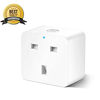 Smart Plug, WiFi Outlet Compatible with Alexa, Echo, Google Home and IFTTT, Wireless Socket Remote Control Timer Plug Switch