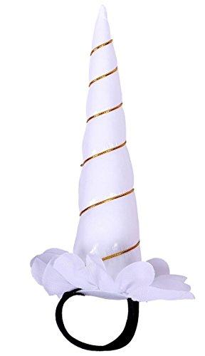 Einhorn Unicorn Halfter Halfterzubehör Halfterdekoration 4 verschiedene Ausführungen Farbe weiß