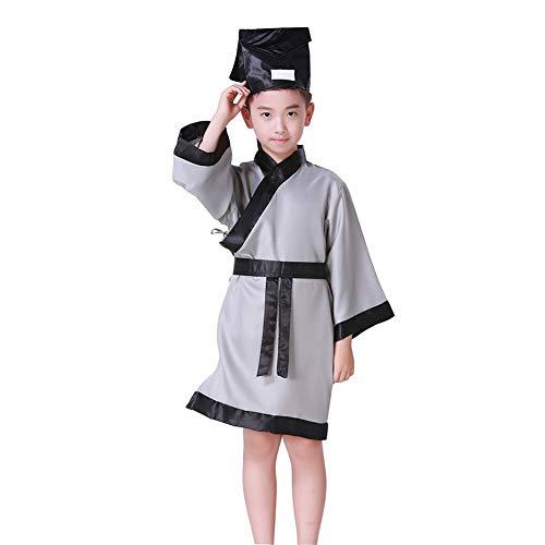 Mädchen Kostüm Verkleiden Chinesische - Gtagain Unisex Hanfu Kleidung - Chinesisch Stil Jungen Mädchen Leistung Kostüme Traditionell Konfuzius Erwachsener Abschluss Cosplay Party