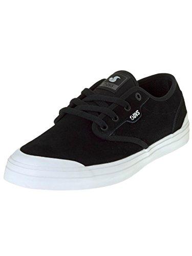 Chaussure DVS Cedar Noir Blanc Suede