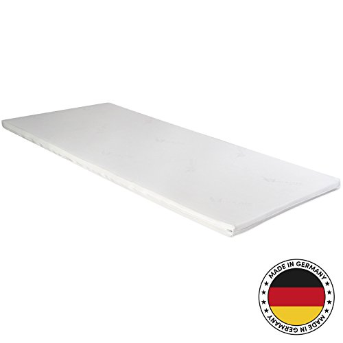 CozyBasic 120x200cm Topper Matratzenauflage – 3-cm dick und in alle Größen erhältlich – Oeko-TEX® 100 – Made in Germany (120 x 200 cm)