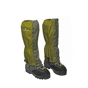 Ferrino 77310HVV.1SIZ Zermatt Gaiters Army (Set), Erwachsene, Unisex, Einheitsgröße