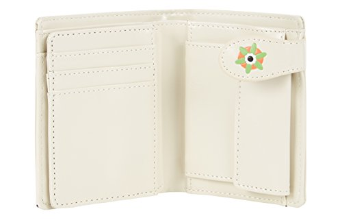 Shagwear portafoglio per giovani donne Small Purse : Diversi colori e design: gufo beige/ Retro Owl