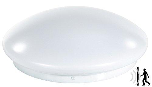Luminea Radarlampe: High-Power LED-Lampe mit Radar-Bewegungsmelder, 10 Watt (Lampe mit Sensor)
