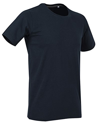 Stars By Stedman Clive Mens Crew Neck T-Shirt Marina Blue