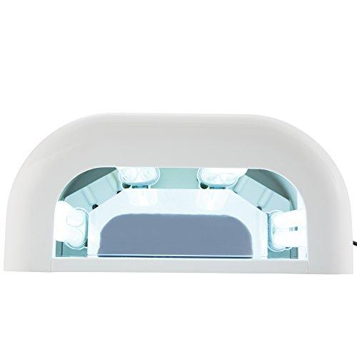 UV Lichthärtungsgerät inkl. 8 UV Röhren, Feilen und Buffer - 2