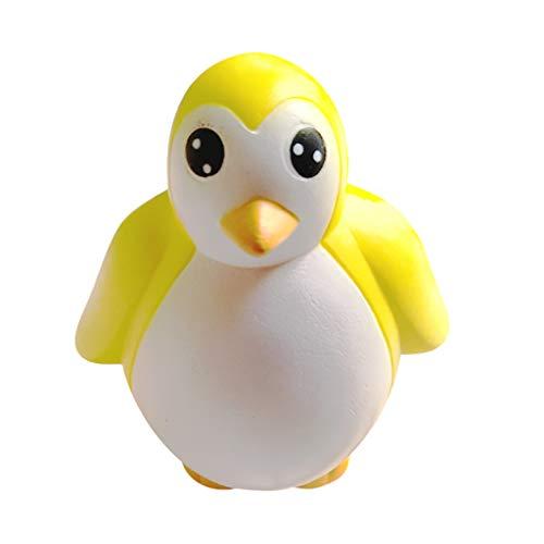 Tier Antistress Spielzeug, Slow Rising Spielzeug für Kinder und Erwachsene (Pinguin-Gelb) ()