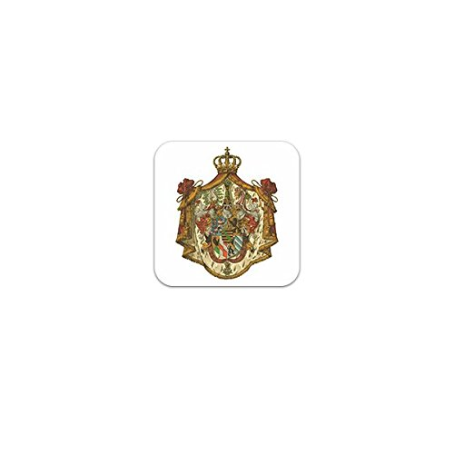 Aufkleber / Sticker -Grossherzogtum Sachsen-Weimar-Eisenach Wappen Monarchie Ernestinisches Herzogtum Thüringen Heiligen Römischen Reiches Weimar Emblem 7x7cm #A3274