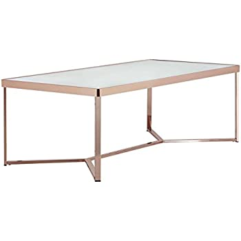 OTTMAR Modernize Metal Frame Coffee Table In Rectangle A0017035