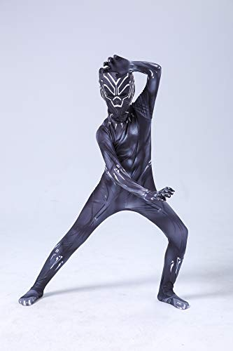 Spiderman Kleidung Avengers Tichala Strumpfhose Adult Cosplay Halloween Kostüm Kinderfest (Size : 100-110) ()