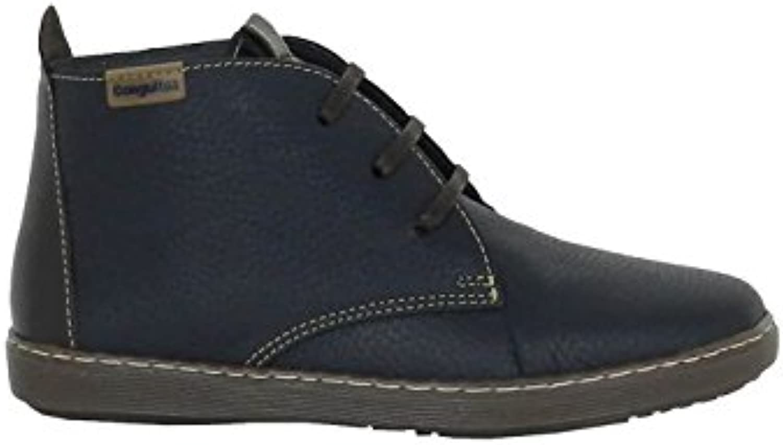 Zapatos Conguitos - Bota de Piel Cordones