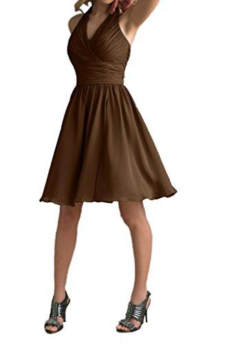 Ivydressing - Robe - Trapèze - Femme Marron - Schokolade