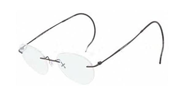 a029a13d123 Giorgio Armani Men s 5004rt Matte Black Frame Titanium Eyeglasses ...