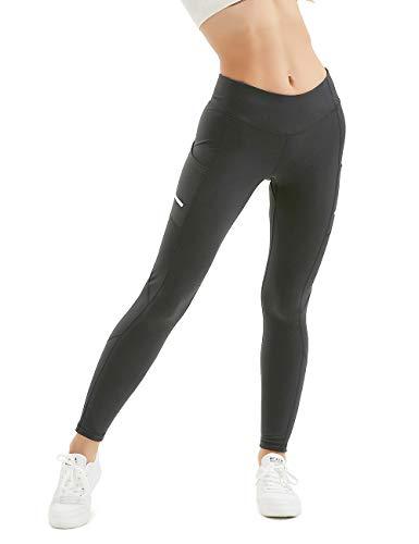 ALONG FIT Shorts Damen Kurze Sporthose Yogahose Leggings mit Taschen Laufshorts Yoga Sport Shorts
