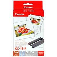 Canon KC-18IF Stickerpapier (in Scheckkartengröße inkl.Farbkartusche)