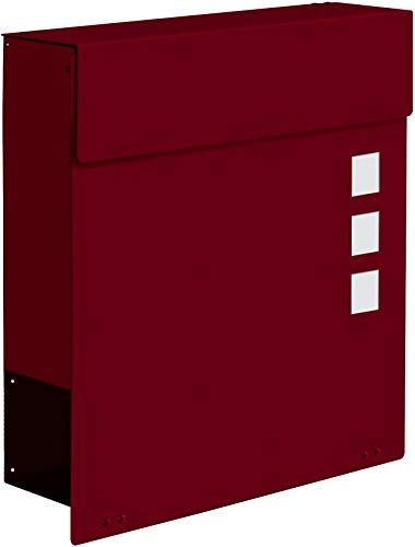 Frabox Design Briefkasten NAMUR EXKLUSIV Stahl lackiert, RAL 7016 Anthrazitgrau - 4