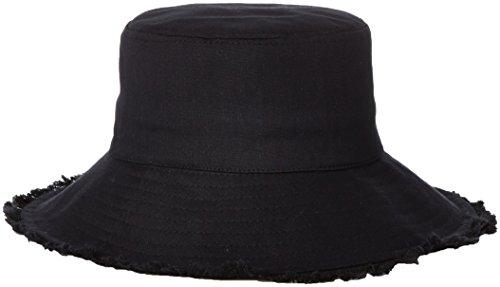 medico-aprobado-de-la-mujer-castaway-lienzo-cubo-plegable-sombrero