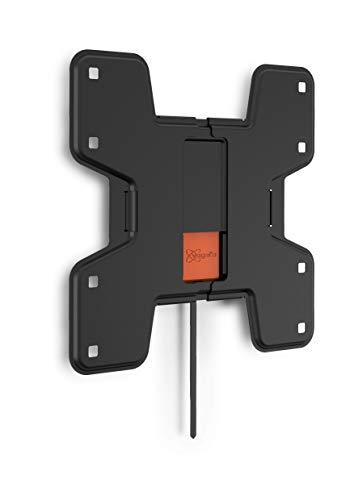 Vogel's WALL 3105 TV-Wandhalterung für 48-109 cm (19-43 Zoll) Fernseher, starr, max. 20 kg, Vesa max. 200 x 200 mm, schwarz