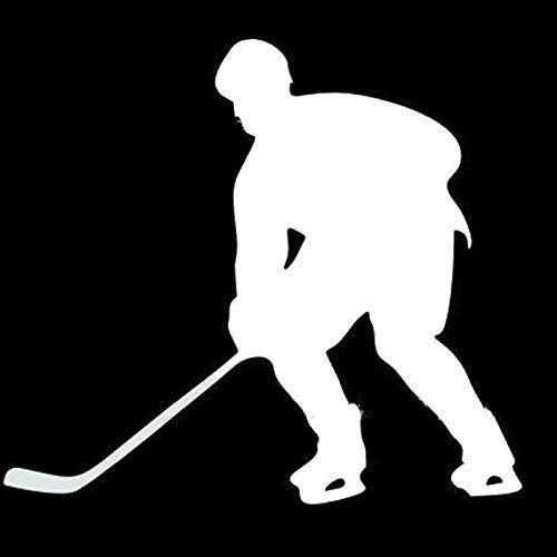 Reflektierende Aufkleber Eishockey-Liebhaber Wasserdicht Selbstklebend Personalisiert Decals für Auto Fahrrad Skateboard Kratzer Abdecken und mehr
