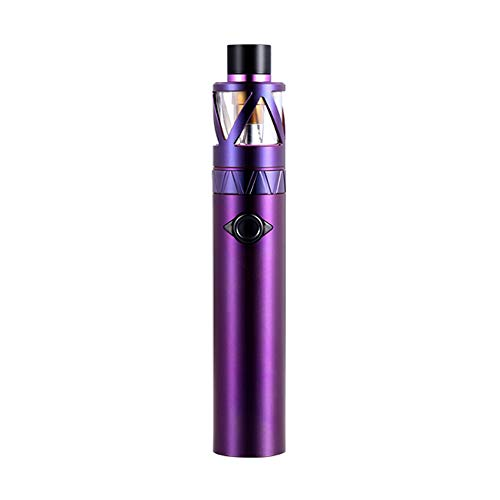 UWELL Whirl 20 Starter Kit 700mAh, E Zigarett Akku mit Vaporizer Extra Quartz Glass Tank 2ml/Ohne Nikotin Ohne Tabak (Lila)